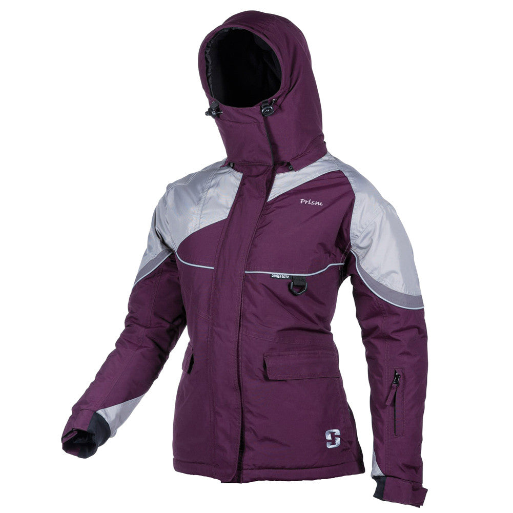 STRIKER Ice Prism Marsala/Gray Jacket (12401)