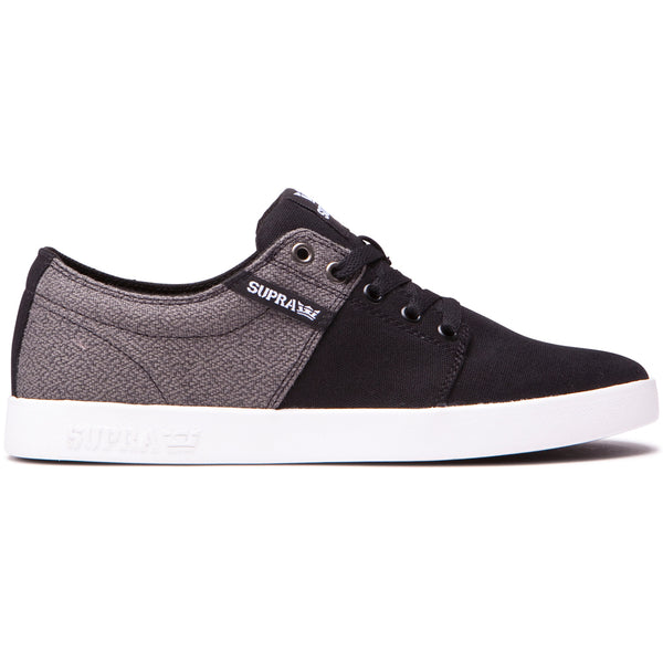 SUPRA Stacks Ii Black/White Shoes (08184-009-M)