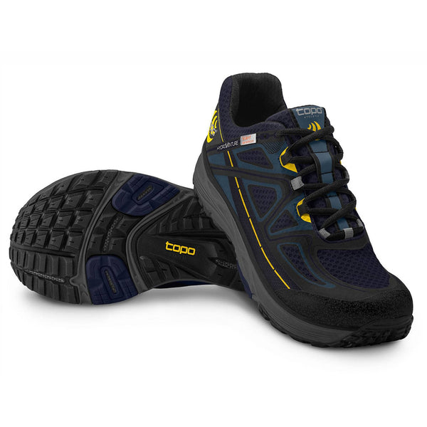 TOPO ATHLETIC Hydroventure Navy/Black Men's Running Shoe (M015-NAVBLK)