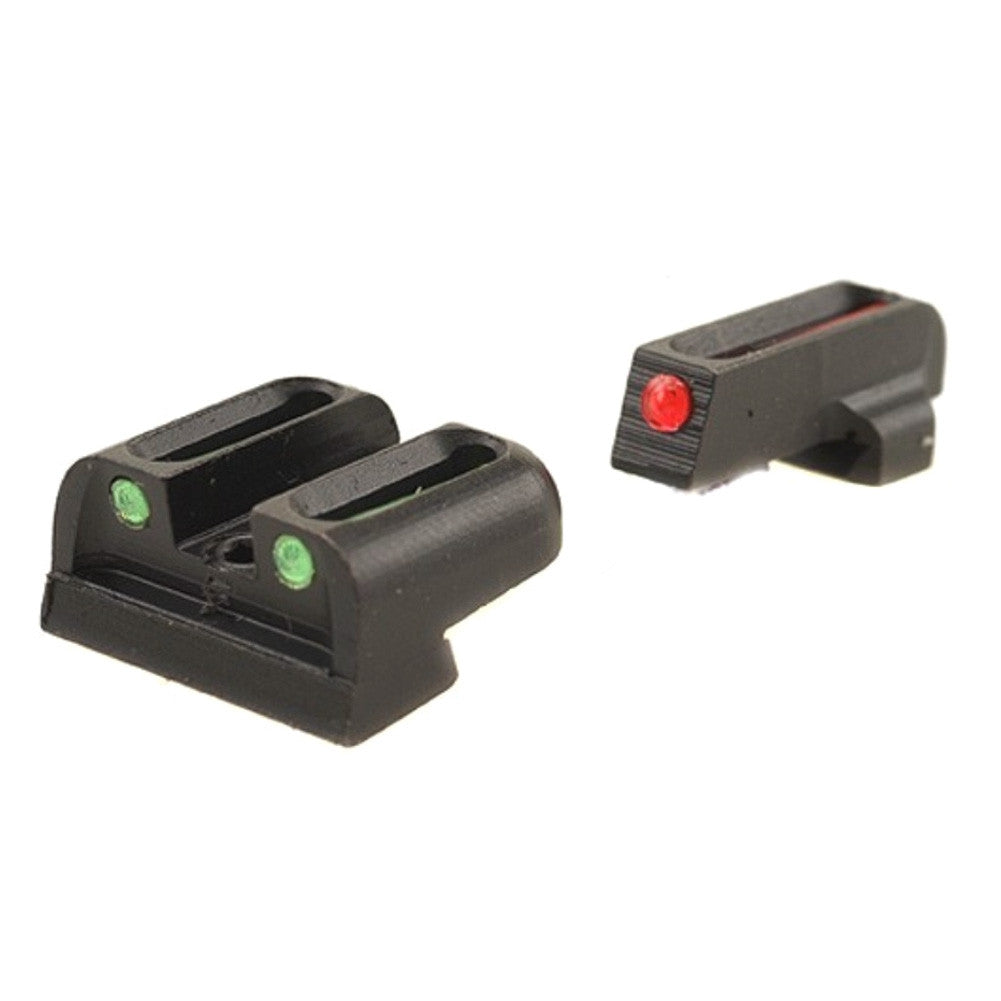 TRUGLO TG131S2 Brite-Site Fiber Optic Red, Rear Green Sig #6 Front & Sig #8 Rear Handgun Sights