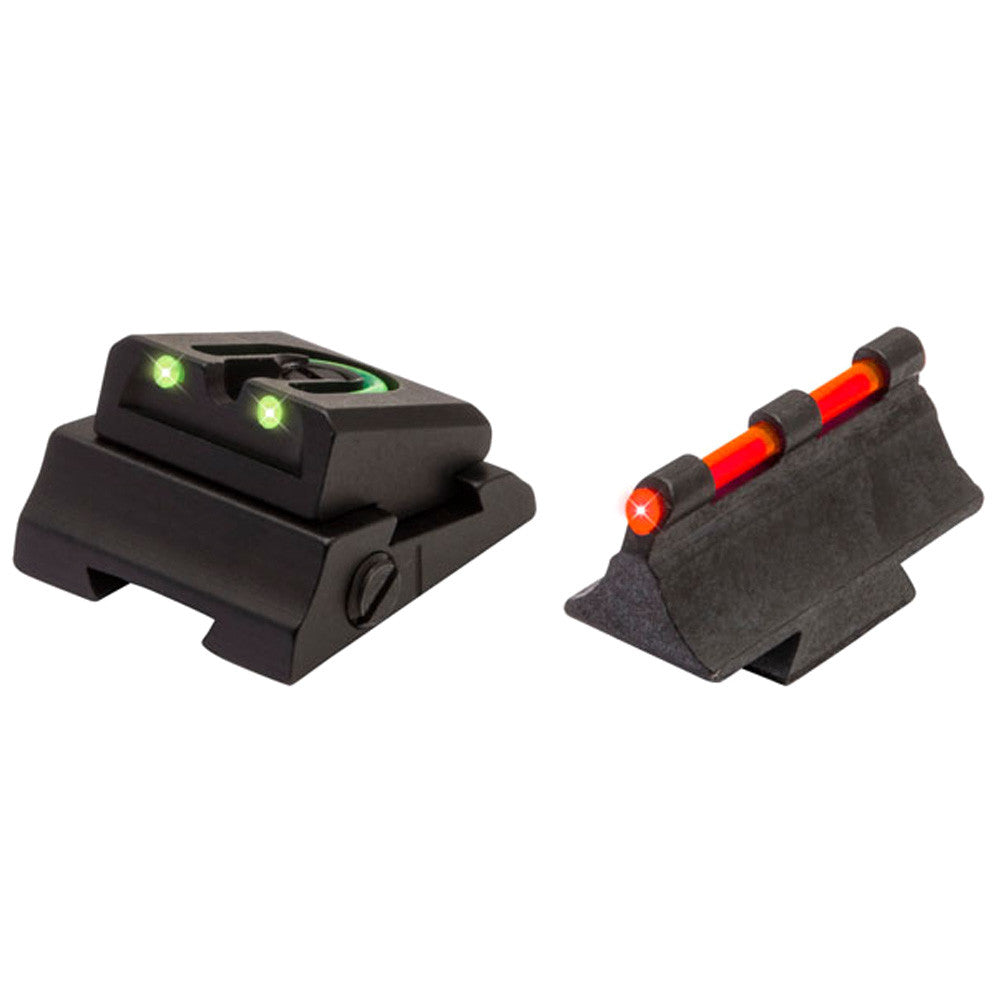 TRUGLO Mossberg 695 Fiber Optic Shotgun or Rifle Green & Red, Front & Rear Sight (TG961M)