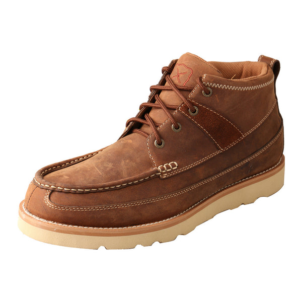 TWISTED X Mens Casual Oiled Saddle Shoe (MCAS001)