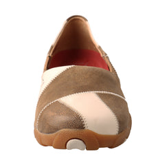 TWISTED X Womens Driving Bomber/Birch Moccasins (WDM0054)