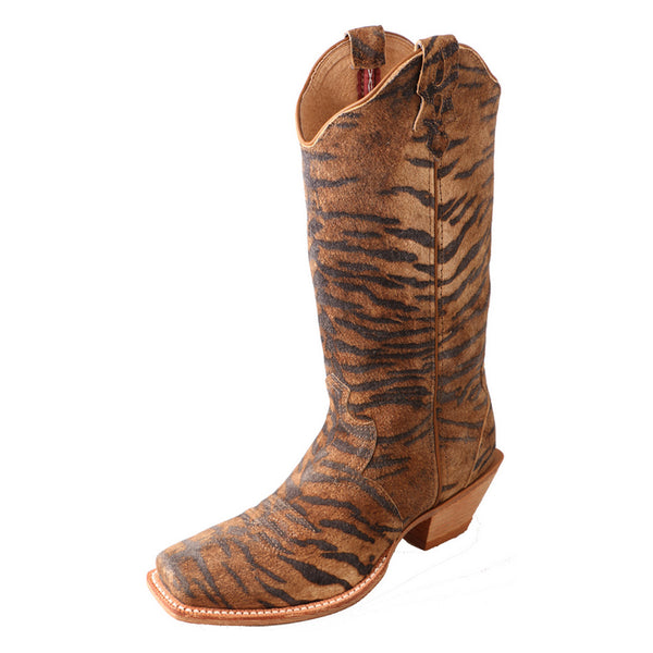 TWISTED X Womens Steppin Out Tiger/Tiger Boot (WSO0021)