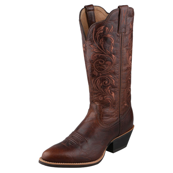 TWISTED X Womens Western Chocolate/Chocolate Boot (WWT0032)