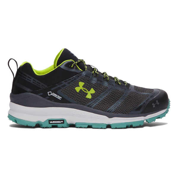 UNDER ARMOUR Mens Verge Low Black GORE-TEX Shoes (1268851-001)