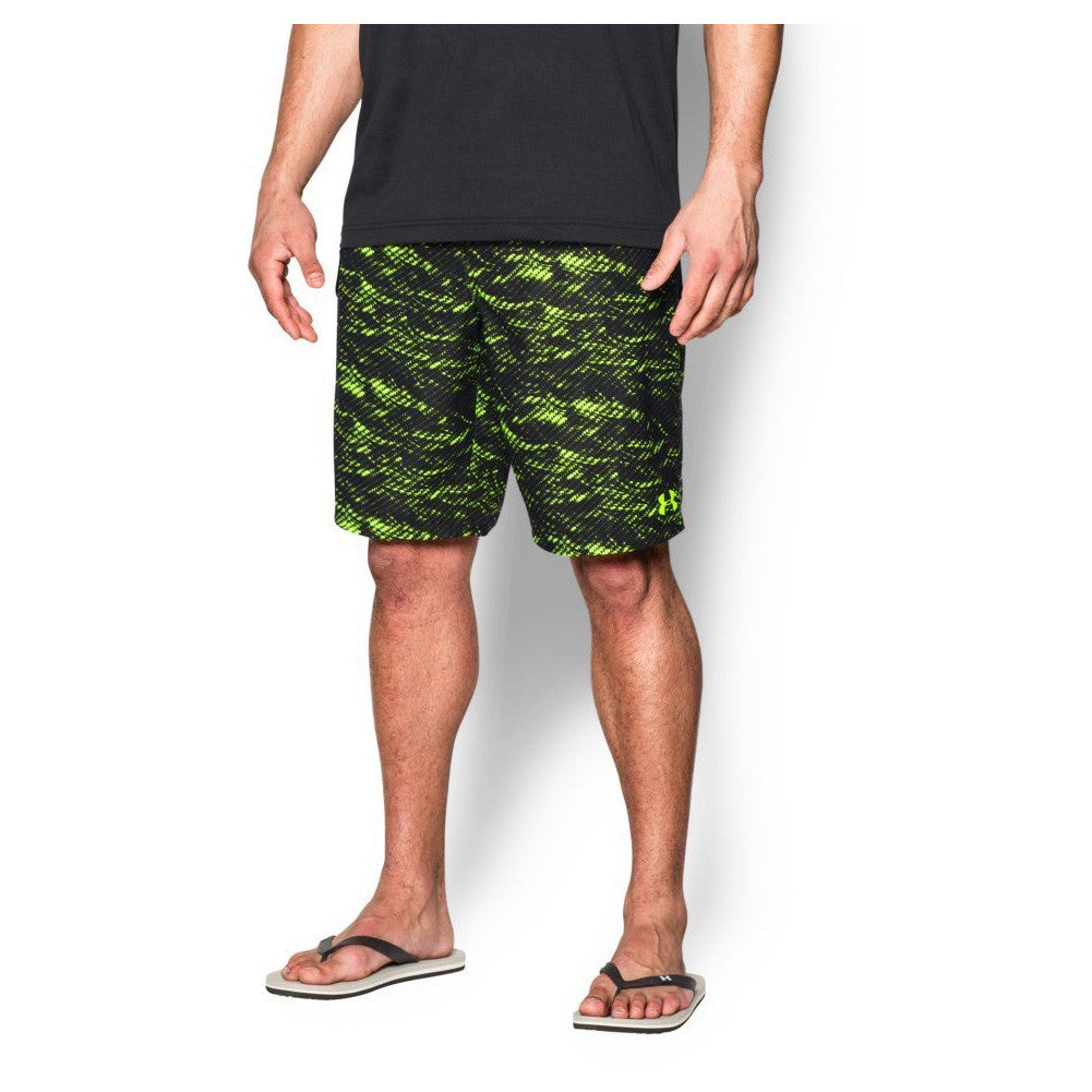 UNDER ARMOUR 1271514-363 Mens Reblek Fuel Green BoardShorts