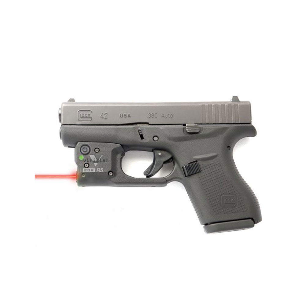 VIRIDIAN R5-R-G42 Reactor 5-R Glock 42 Red Laser Sight