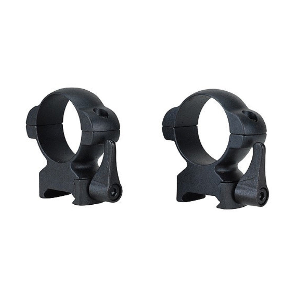 WEAVER Lever-Lock QD Top Mount 30mm High Scope Rings (49335)
