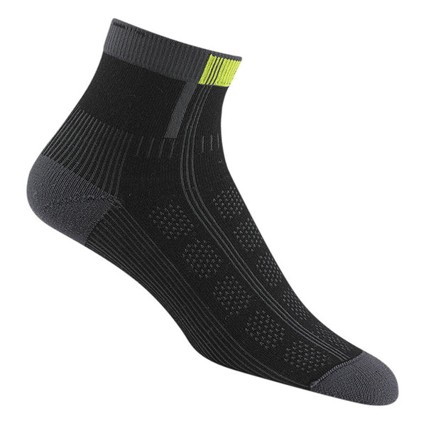 WIGWAM Rebel Fusion Quarter II Black Socks (F1428-052)