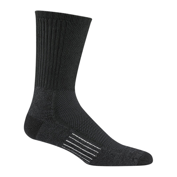 WIGWAM Cool Lite Hiker Pro Crew Black/Charcoal Socks (F6067-040)