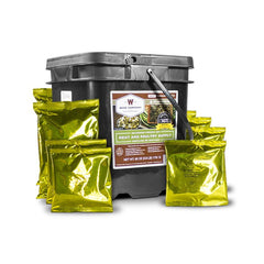 WISE COMPANY 07-702 60 Serving Gourmet Seasoned Freeze Dried Meat Kit