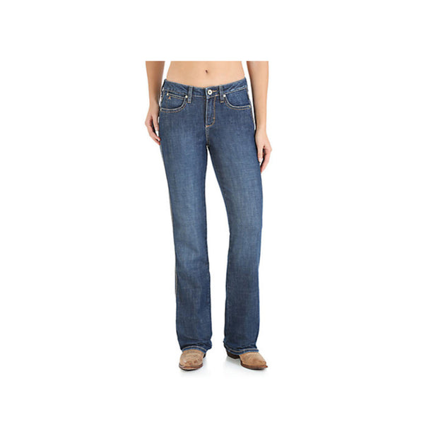 WRANGLER WUT74BL Womens Aura Instantly Slimming BL Wash Jean