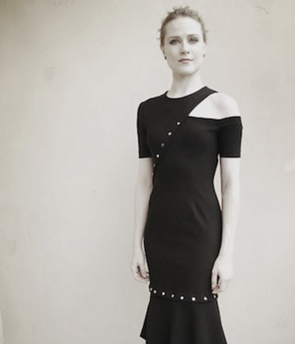 Evan Rachel Wood Wears Yigal Azrouël