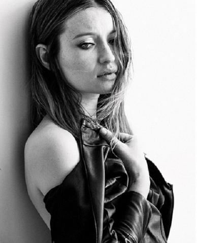 Emily Browning Featured in Yigal Azrouël at Interview Magazine Online