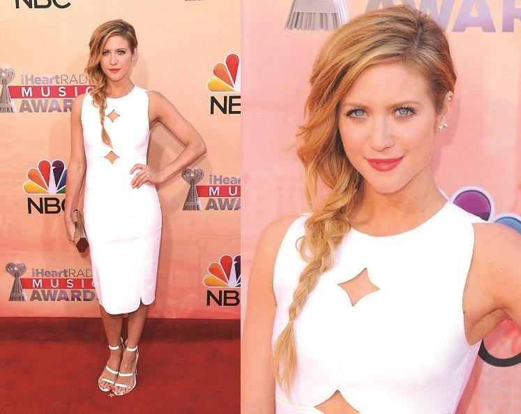 Brittany Snow Wears Yigal Azrouël