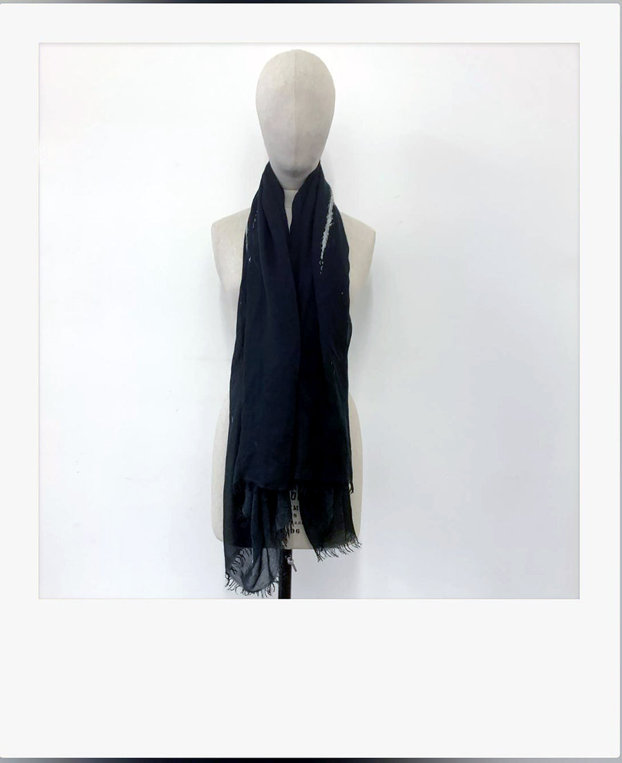 NYL Art Print Cashmere Modal Scarf