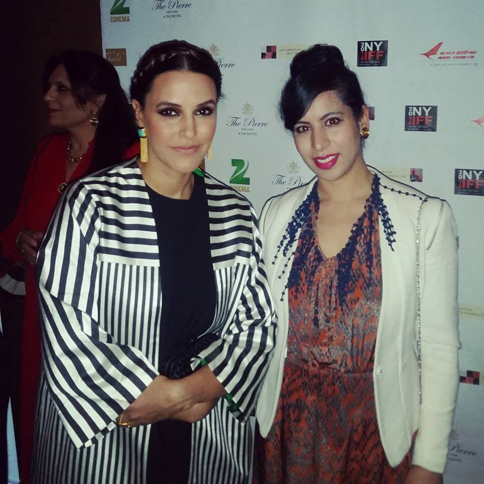 Designer Tina Tandon sponsors The New York Indian Film Festival.