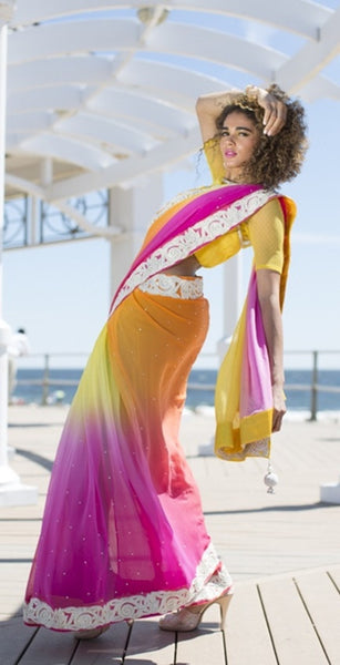 Payal - The Romantic Diva Sari