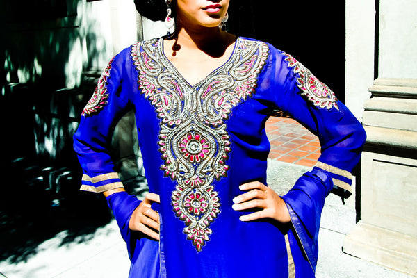 Raina - Regal rani suit set -SOLD OUT.