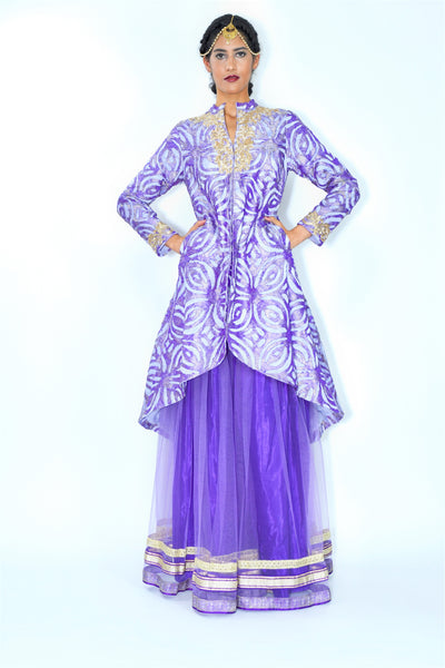 Amethyst Cutwork Jacket