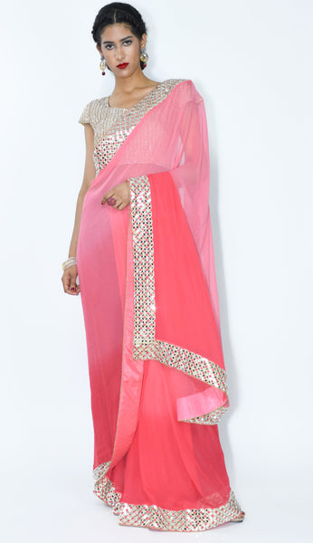Kareena- Bollywood Classic Georgette Sari