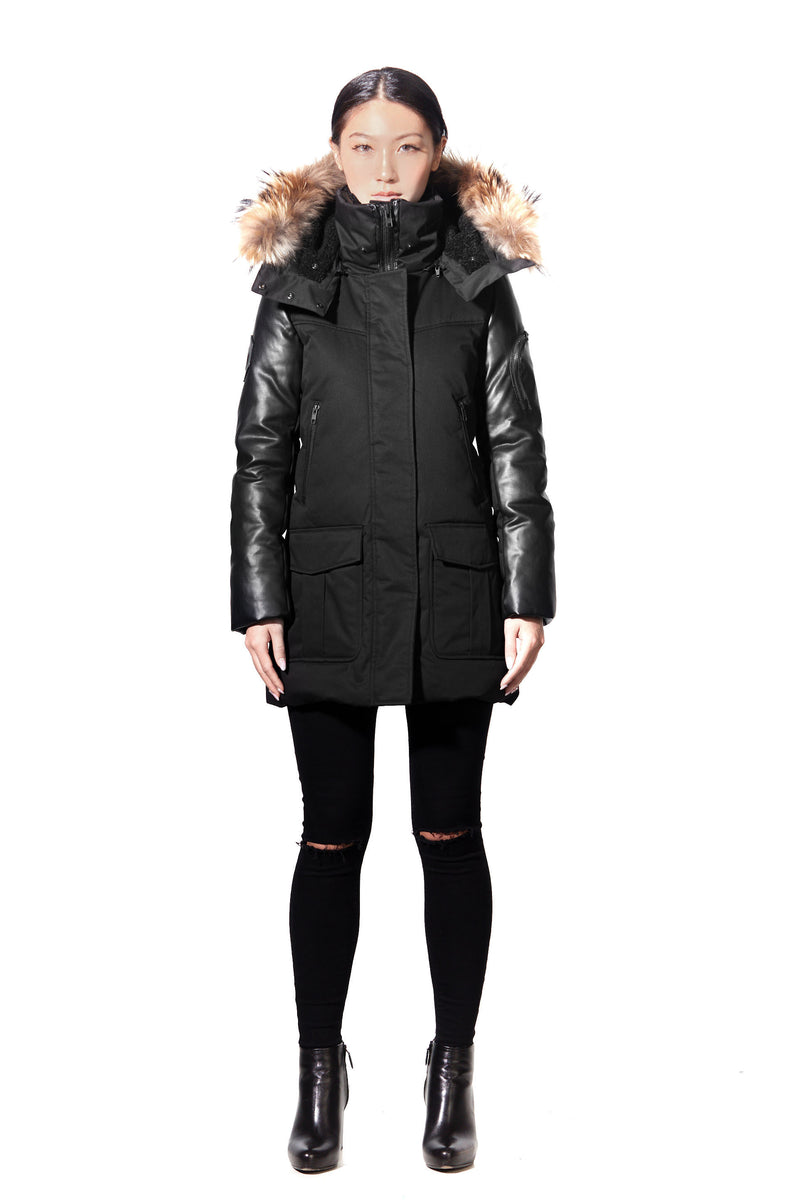 THORIUM BLACK DOWN PARKA