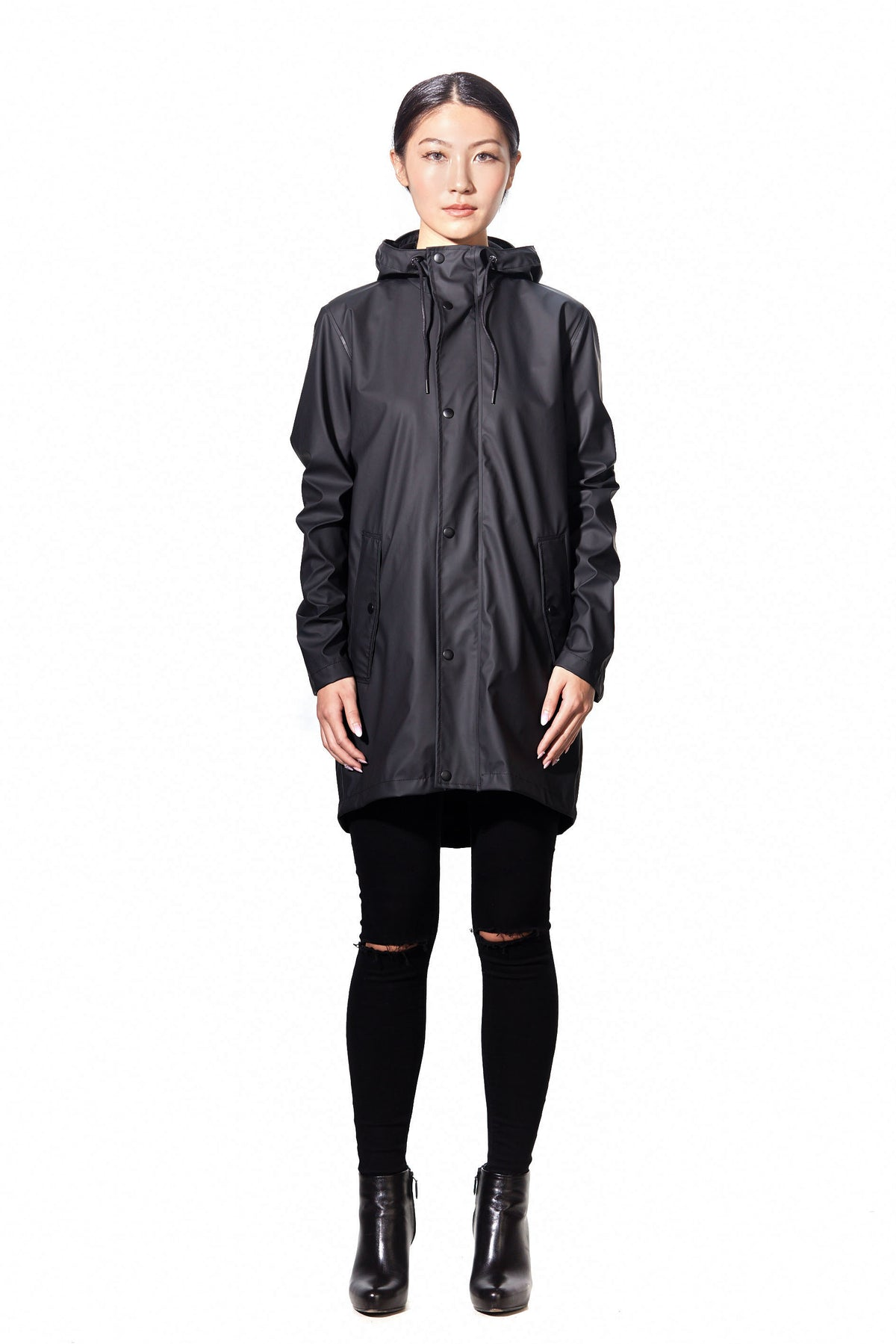 HYDROGEN RAIN JACKET WOMEN - Black