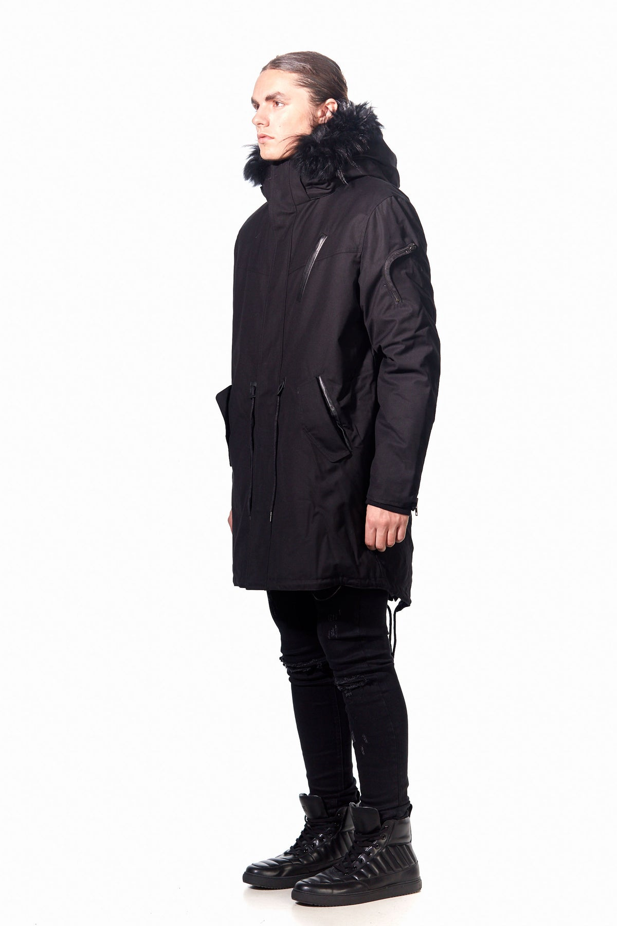 URANIUM 3 IN 1 DOWN JACKET BLACK