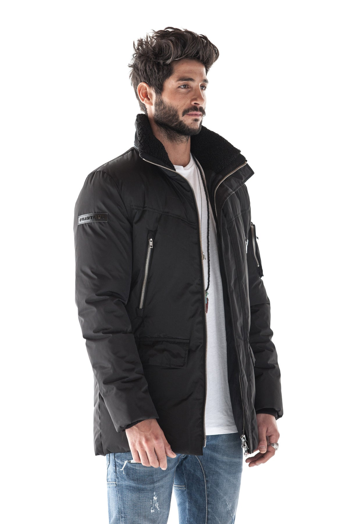 CAESIUM DOWN PARKA (BLACK)