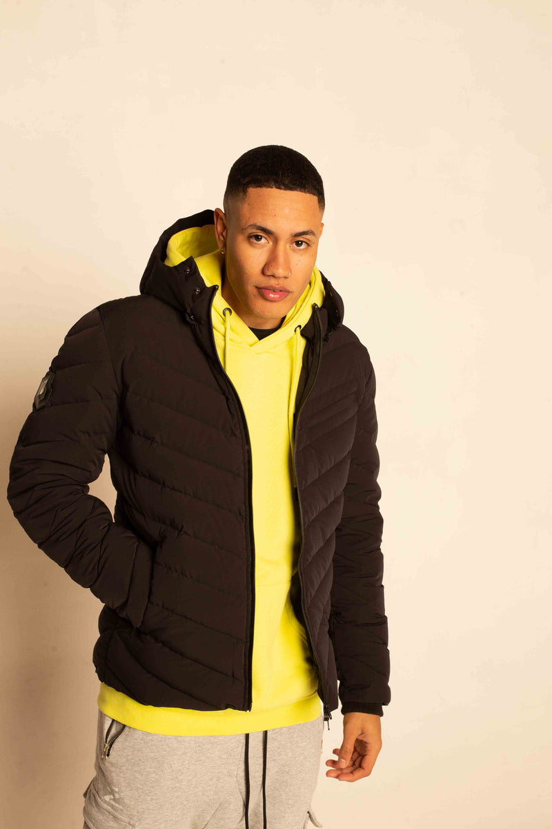 NEON LIGHT DOWN JACKET