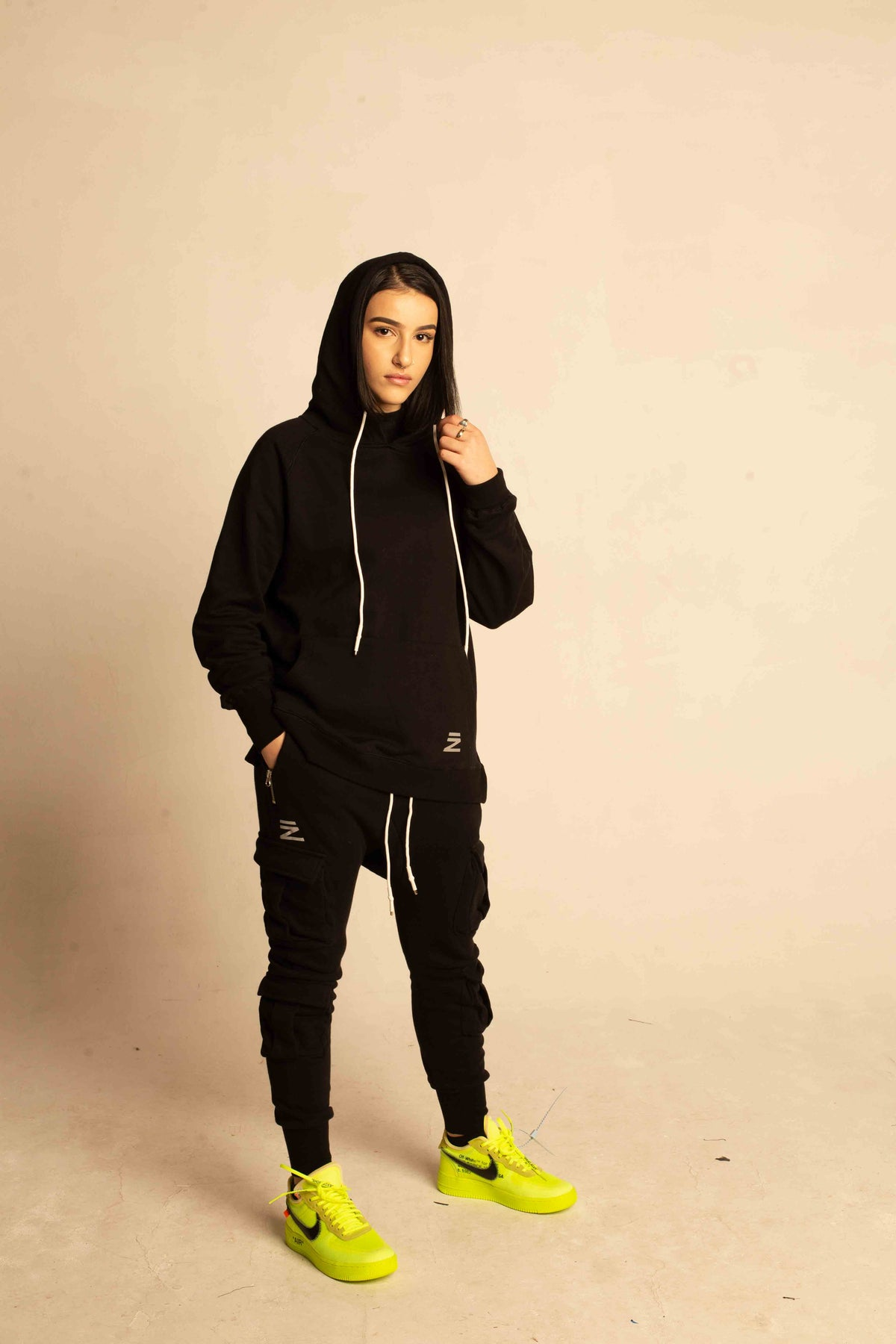 4 POCKETS 3M SWEAT PANTS (BLACK)