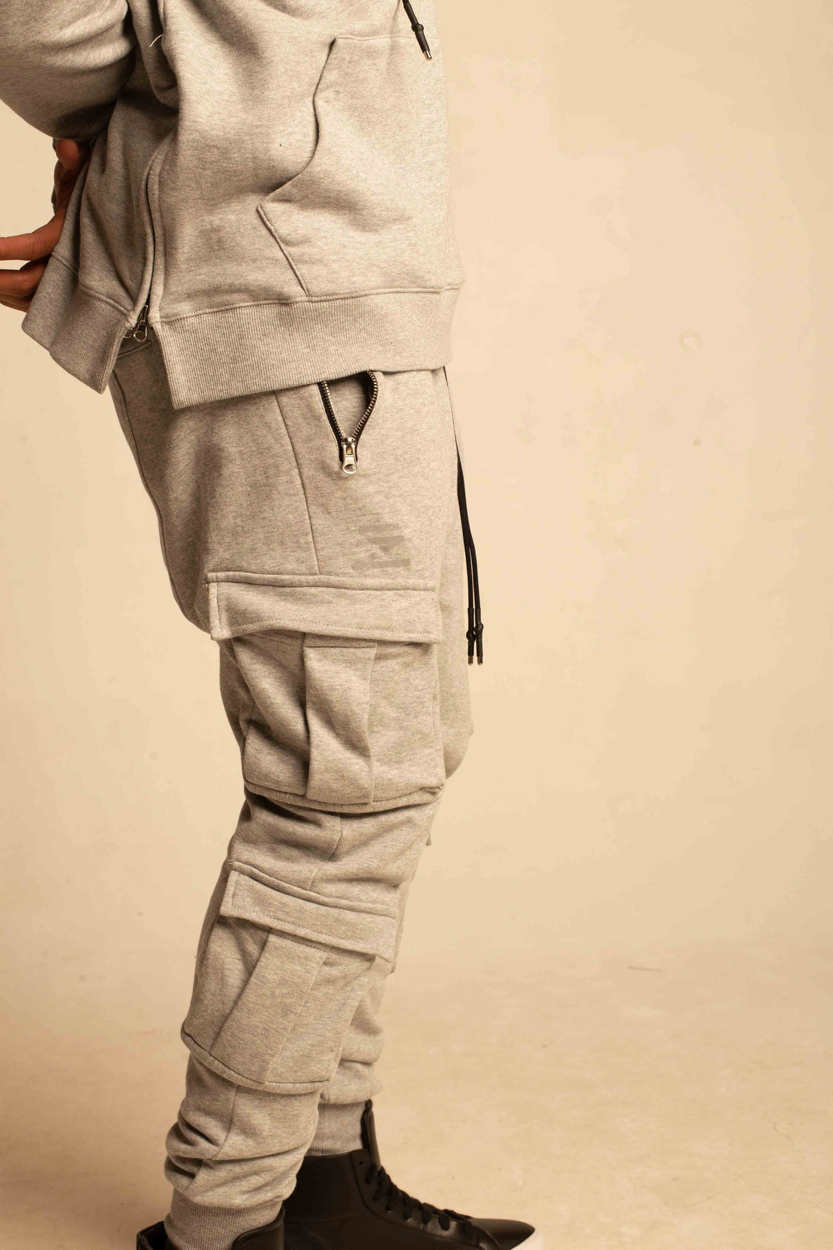 4 POCKETS 3M SWEAT PANTS (GREY)