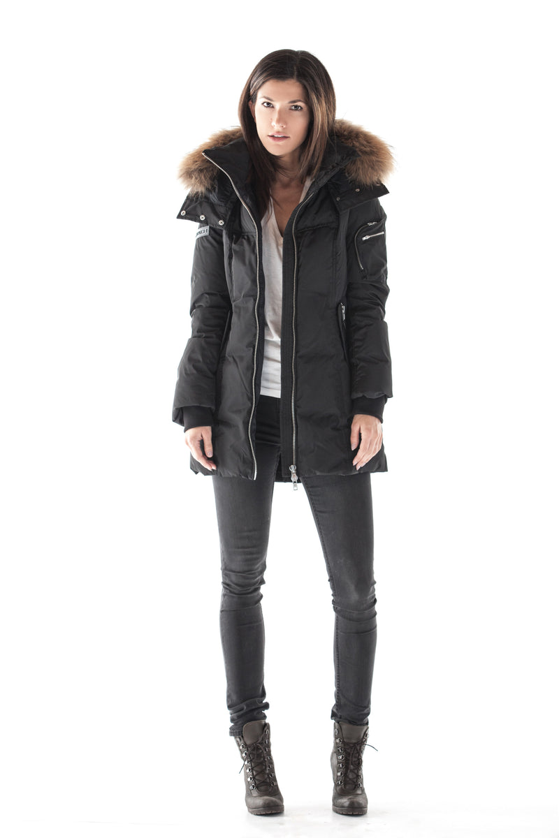 MERCURY BLACK DOWN PARKA