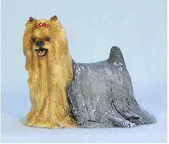 Hevener Collectible Yorkshire Terrier Dog Figurine