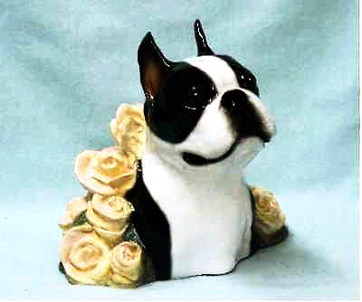 Hevener Boston Terrier Sculpture