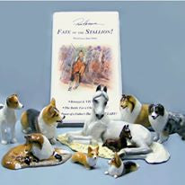 Ron Hevener Family Dog Figurine For Corgi Lovers -- What Color For You?