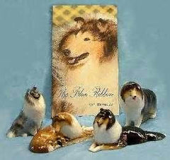 Ron Hevener Family Dog Figurine For Springer Spaniel Lovers -- What Color For You?