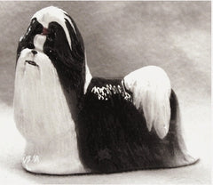 Ron Hevener Collectible Shih-Tzu Dog Figurine