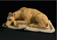 Ron Hevener Collectible Greyhound Dog Figurine