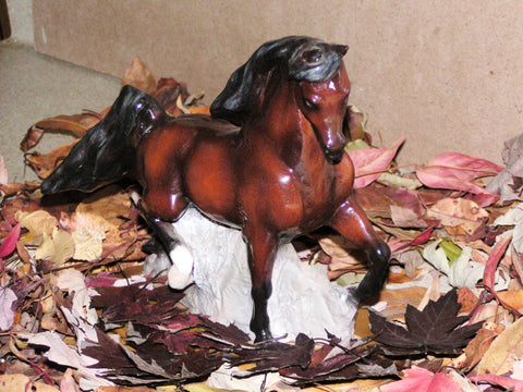 Hevener Arabian Stallion Figurine Collectible