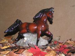Ron Hevener Arabian Stallion Figurine Collectible