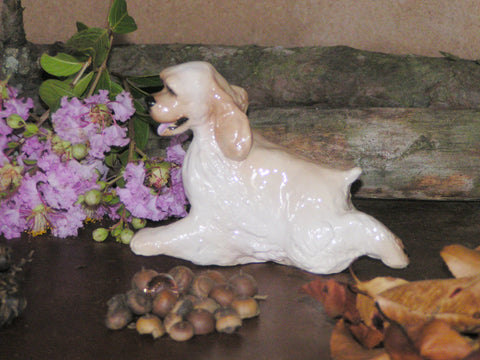 Hevener American Cocker Spaniel Dog Figurine Collectible
