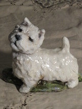 Ron Hevener Family Dog Figurine For Westie Lovers