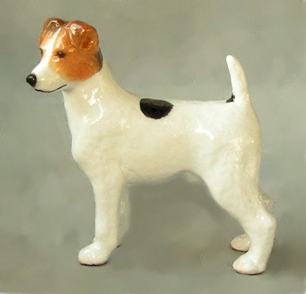 Ron Hevener Collectible Jack Russell Parsons Dog Figurine