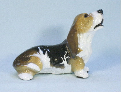 Ron Hevener Family Dog Figurine For Basset Lovers -- What Color Is Yours?
