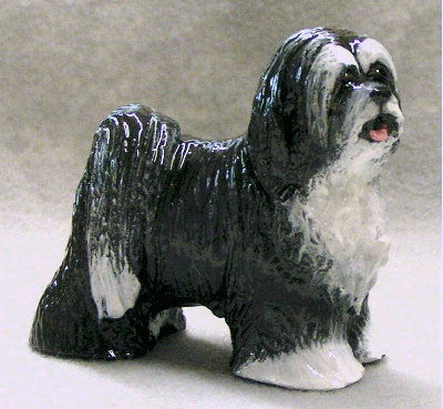 Ron Hevener Collectible Tibetan Terrier Dog Figurine