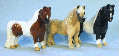 Hevener Collectible Miniature Horse Figurine