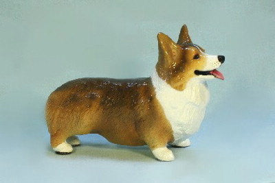 Ron Hevener Collectible Welsh Pembroke Corgi Dog Figurine