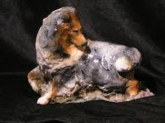Ron Hevener Family Dog Figurine For Collie Lovers -- What Color Is Yours?